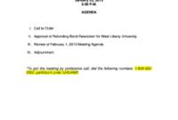 27 Printable Conference Call Meeting Agenda Template Forms in Conference Call Agenda Template