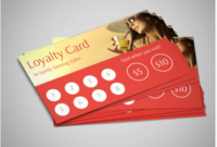 28 Free And Paid Punch Card Templates & Examples intended for Business Punch Card Template Free