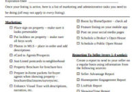 30+ Sample Real Estate Marketing In Pdf | Ms Word throughout Real Estate Agent Business Plan Template Pdf