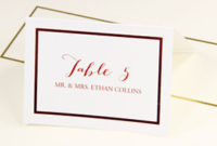 36+ Printable Place Cards For Wedding Gif throughout Gartner Business Cards Template