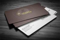 40+ Best Free Psd Business Card Templates – Webprecis for Professional Business Card Templates Free Download