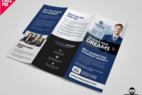 40 Free Tri-Fold Brochure Templates | Free Psd | Ui Download throughout Unique Free Tri Fold Business Brochure Templates