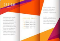 40 Professional Free Tri Fold Brochure Templates – Word Throughout Unique 2 Sided Business Card Template Word