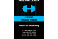 4,000+ Personal Trainer Business Cards And Personal With Regard To Free Personal Business Card Templates