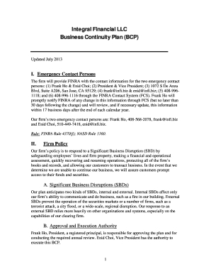 44 Printable Business Continuity Plan Template Forms in Unique Business Continuity Checklist Template