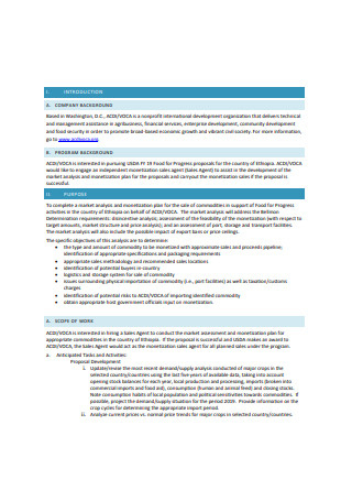 46+ Sample Sales Proposals In Pdf | Ms Word within Unique Sales Business Proposal Template