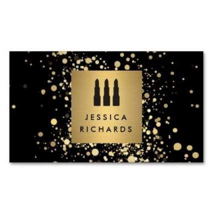 48 Trendy Makeup Artist Business Cards Design Lipsticks # within Freelance Business Card Template