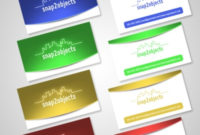 5 Business Card Template Packs – Snap2Objects within Best Photoshop Business Card Template With Bleed