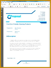 5 Product Sales Proposal Sample   Fabtemplatez with Business Sale Proposal Template
