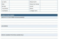 50+ Employee Information Sheets [Pdf+Word] – 2020 » Excelshe with Company Profile Template For Small Business