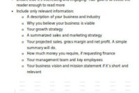 51+ Sample Business Plans In Pdf | Ms Word | Excel pertaining to Business Plan For A Startup Business Template