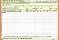 6+ Accounting Spreadsheet For Small Business   Excel throughout Business Accounts Excel Template