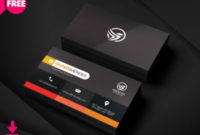 6 Best Salesmans Business Card   Freedownloadpsd in Fresh Blank Business Card Template Photoshop