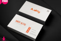 6 Best Salesmans Business Card | Freedownloadpsd with Quality Freelance Business Card Template