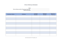 6+ Delivery Schedule Templates – Website, WordPress, Blog for WordPress Business Directory Template