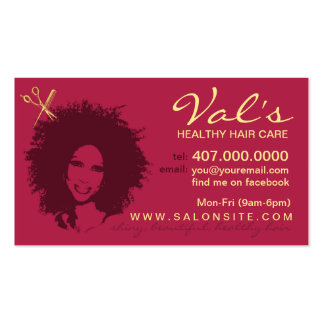 600+ African American Business Cards And African American throughout Hair Salon Business Card Template