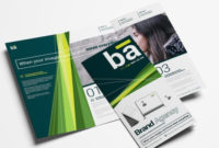 64+ Tri-Fold Templates In Psd, Ai & Vector – Brandpacks in Unique Free Tri Fold Business Brochure Templates
