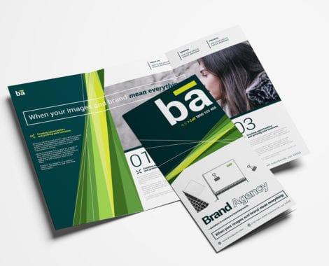 64+ Tri-Fold Templates In Psd, Ai & Vector - Brandpacks in Unique Free Tri Fold Business Brochure Templates