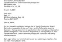 7 Best Business Proposal Letter Images | Proposal Letter for Sales Business Proposal Template