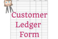 7 Best Ledger Sheets Images   Small Business Bookkeeping for Unique Bookkeeping For Small Business Templates