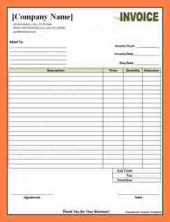 7+ Company Invoice Template | Company Letterhead with regard to Business Invoice Template Uk