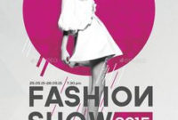 7 Fashion Show Flyers Ideas | Fashion Show, Fashion, Flyer for Best Business Attire For Women Template