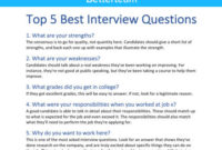 7 Manager Interview Questions To Help You Find The Best throughout New Ultimate Business Plan Template Review
