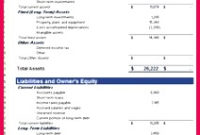 7 Trial Balance Sheet Template Excel 74529 | Fabtemplatez regarding Balance Sheet Template For Small Business