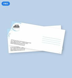 8 Best Envelope Templates & Designs Images In 2020 within Business Envelope Template Illustrator