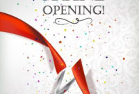 9 Best Grand Opening Flyer Images On Pinterest | Flyer throughout Business Open House Invitation Templates Free