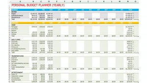 9 Easy-To-Use Budget Templates | Gobankingrates pertaining to Annual Business Budget Template Excel
