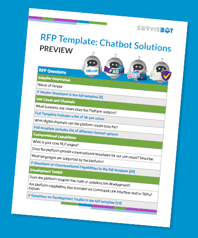 A Chatbot Rfp Template:discover Over 100 Great Questions inside Project Business Requirements Document Template