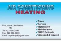 Ac Heating & Cooling Business Card | Custom Print For Hvac inside New Hvac Business Card Template