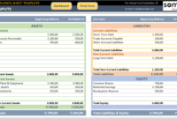 Accounting And Finance – Excel Templates & Spreadsheets regarding New Business Balance Sheet Template Excel