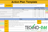 Action Planning Template Excel – Download Sample And regarding Best Business Plan Spreadsheet Template Excel