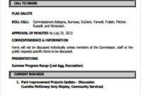 Agenda Format Word 2013 – Template Agenda Minutes For regarding Free Meeting Agenda Template Microsoft Word