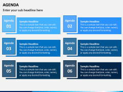 Agenda Powerpoint Template   Sketchbubble for Agenda Template For Presentation