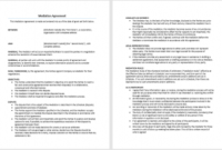 Agreement Templates – Download 30+ Free Sample Agreements within Staffing Agency Business Plan Template