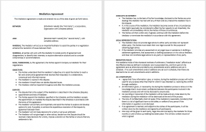 Agreement Templates - Download 30+ Free Sample Agreements within Staffing Agency Business Plan Template