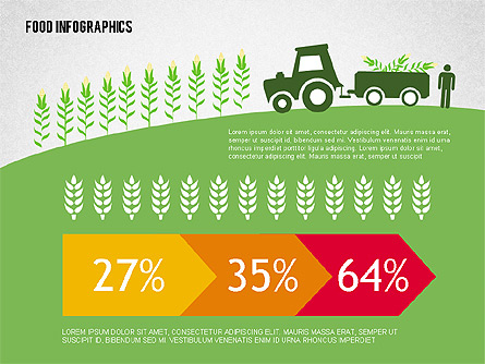 Agriculture Infographics - Presentation Template For for Fresh Agriculture Business Plan Template Free