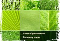 Agronomy And Agriculture – Free Presentation Template For within Agriculture Business Plan Template Free