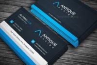 Antique Business Card Template | Flyer Design Templates throughout Unique Business Card Size Template Photoshop