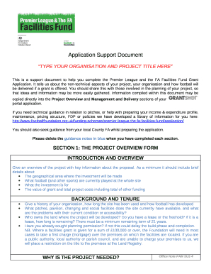 Application Support Document Template Sample Doc Template with Sample Business Requirement Document Template