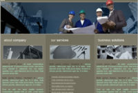 Architectural Company Template Free Website Templates In throughout New Free Blogger Templates For Business