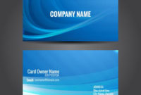 Attractive Business Card Template – Download Free Vectors pertaining to Fresh Professional Website Templates For Business