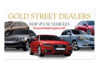 Auto Dealer Business Cards & Templates | Zazzle with Automotive Business Card Templates