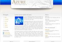 Azure Template Free Website Templates In Css, Html, Js inside Best Business Website Templates Psd Free Download
