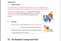 Bar Business Plan Template Sample Pages – Black Box For Template For Writing A Music Business Plan