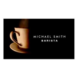 Barista Business Cards & Templates   Zazzle regarding Coffee Business Card Template Free