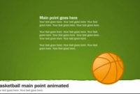 Basketball Playbook – A Animated Powerpoint Template From Intended For Unique Business Playbook Template